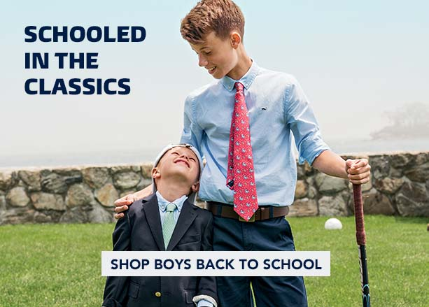 Schooled in the classics. Shop Boys Back to School.
