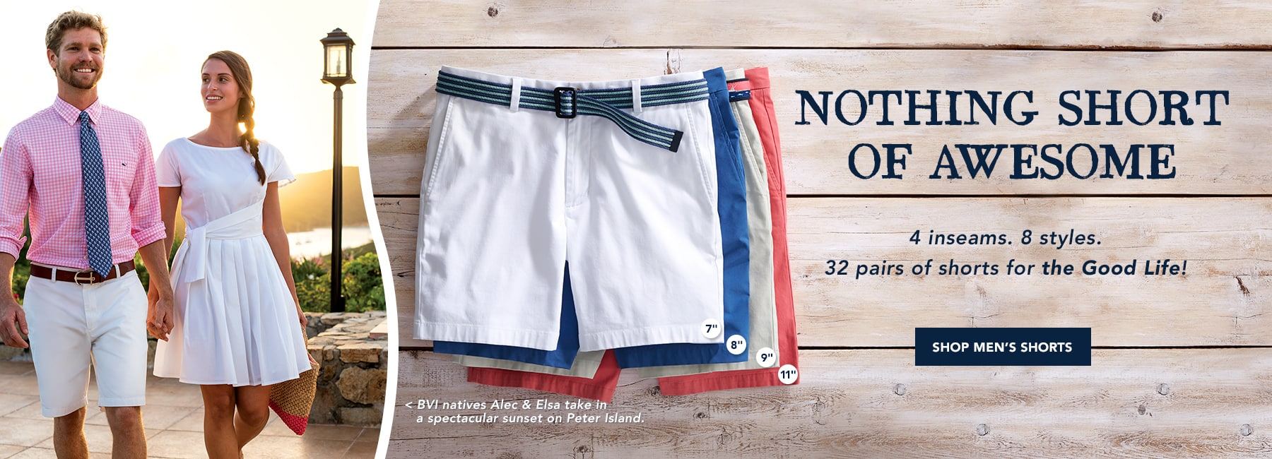 Shop men's shorts.