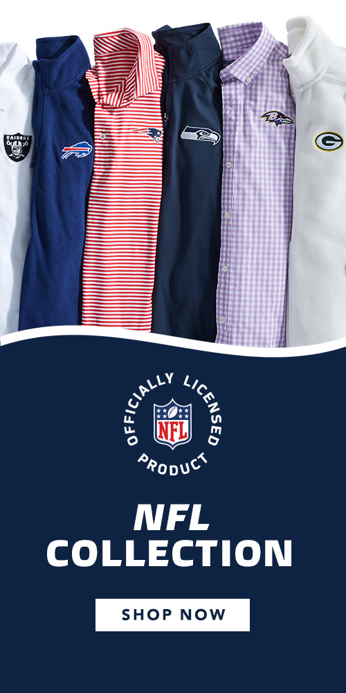 Officially Licensed Product. NFL Collection. Shop now.