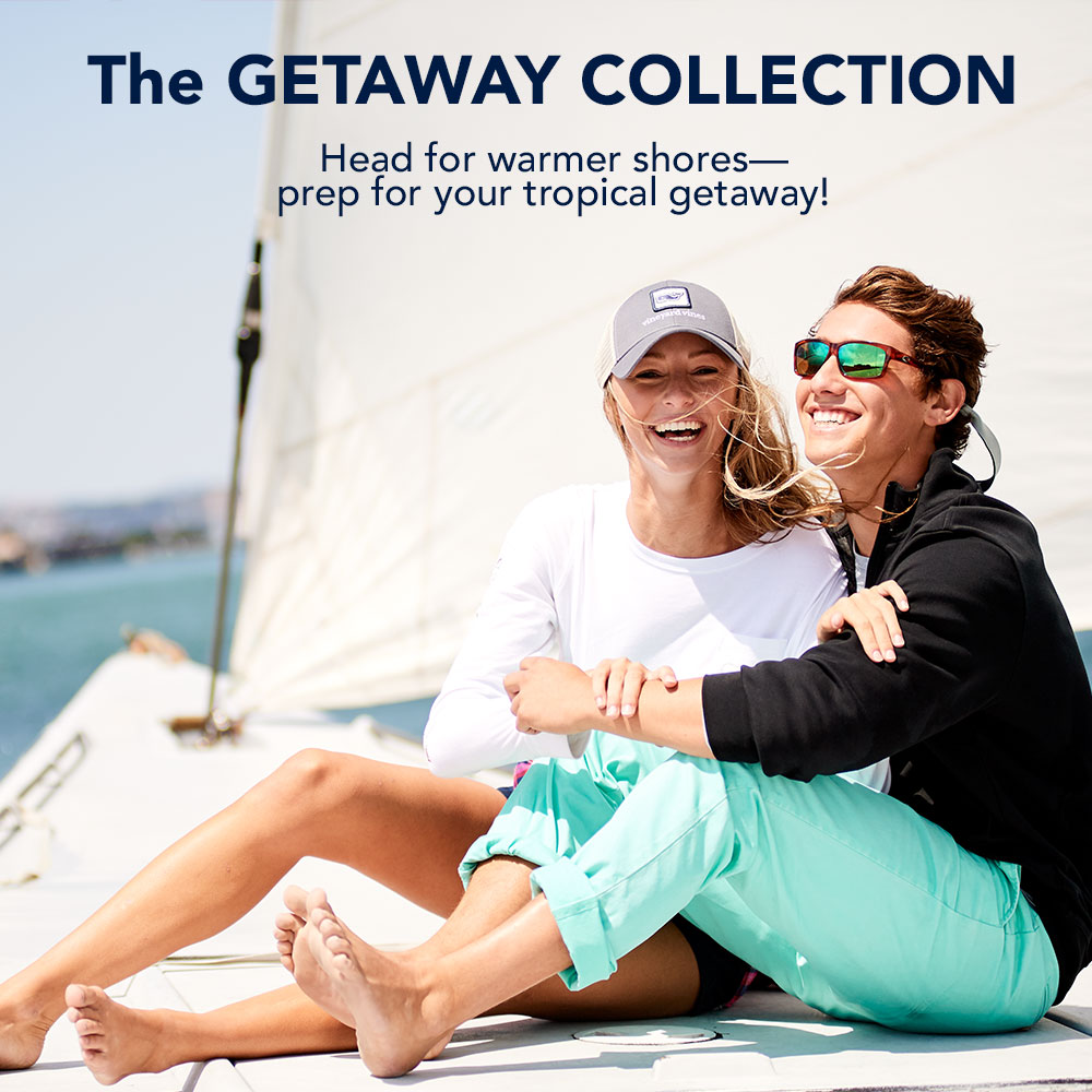 The Getaway Collection. Head for warmer shores-prep for your tropical getaway!