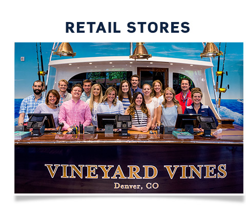 Retail Stores: Explore the world of Vineyard Vines Retail