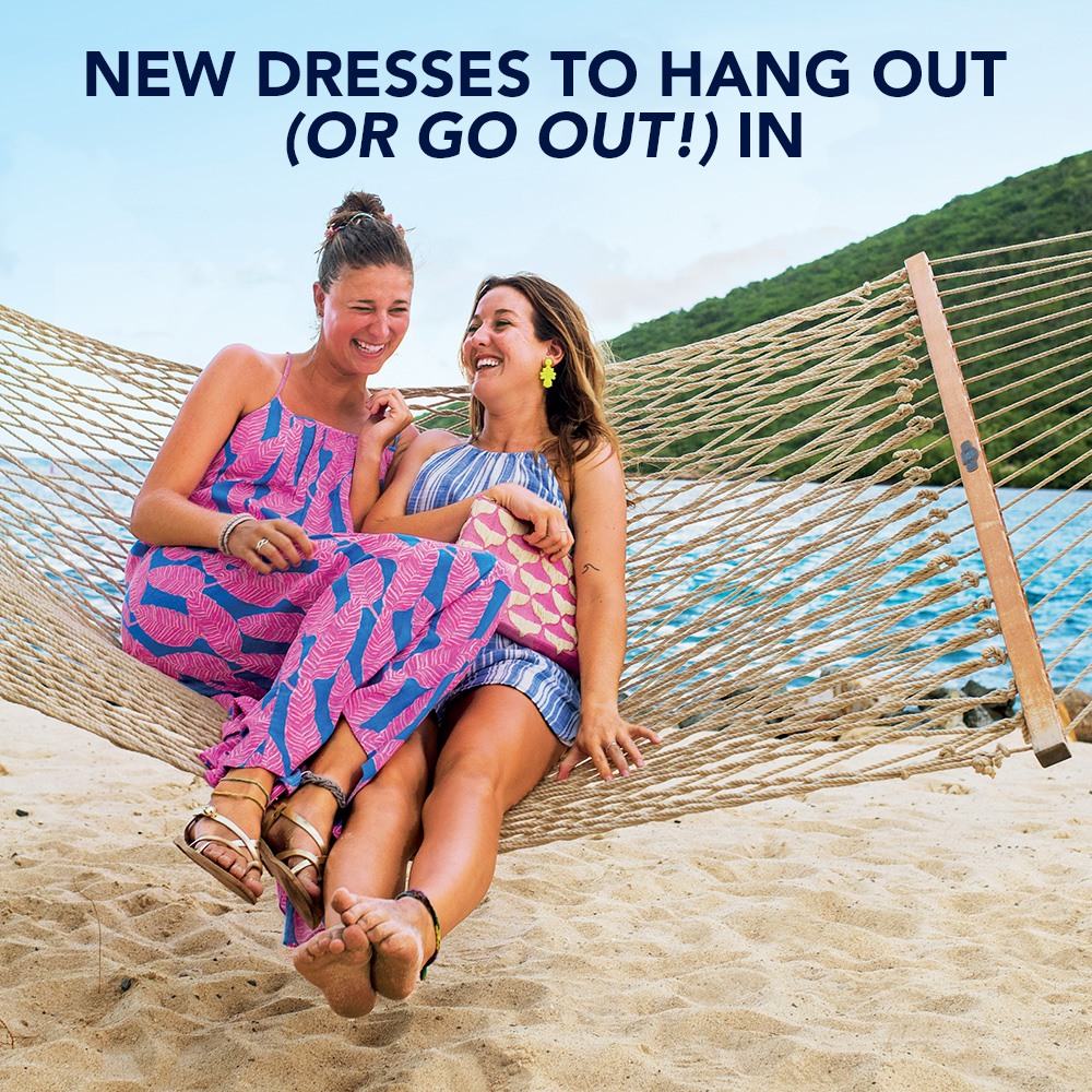 New Dresses to Hang Out (or Go Out!) In. Shop Women's Dresses.