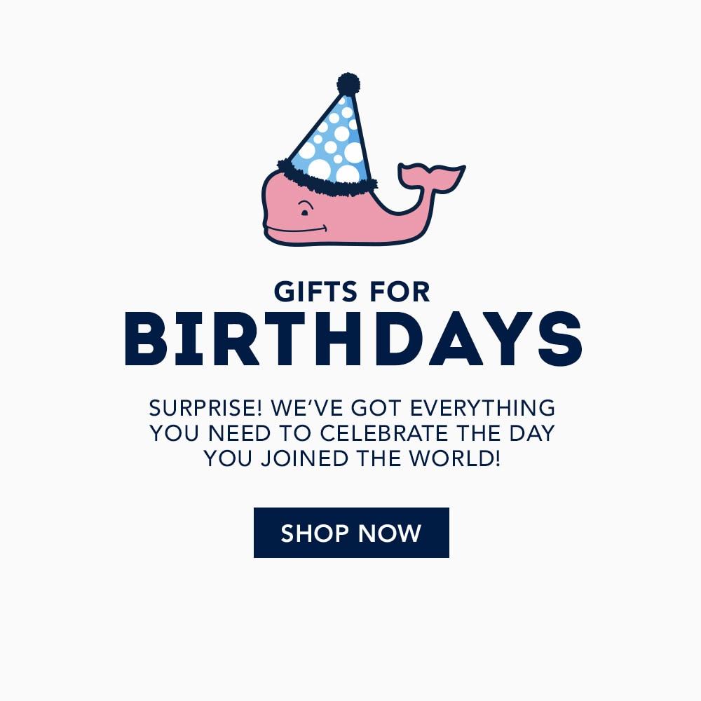 Birthday Shop. Shop now.