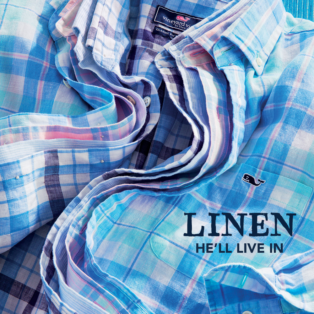 Linen He'll Live In