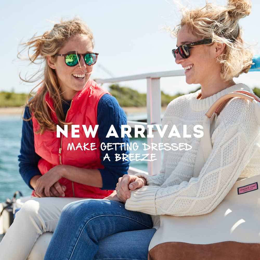 New Arrivals Make Getting Dressed a Breeze. New Arrivals for Women.