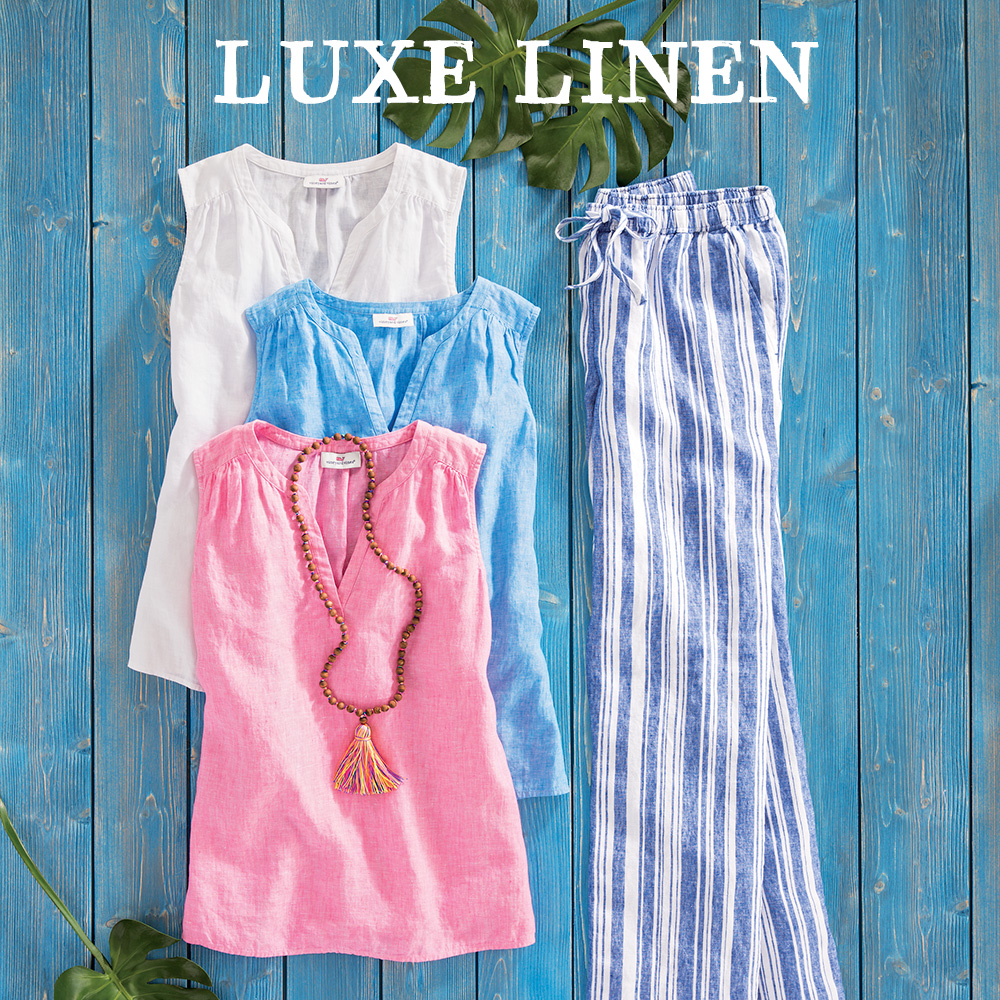 Luxe Linen for Women.