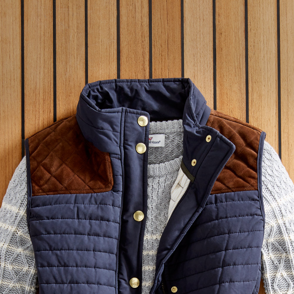 The Womens Quilted Hunting Vest