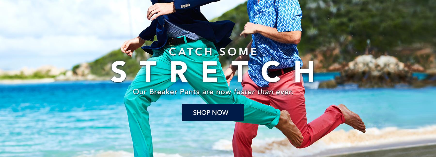 Shop Mens Breaker Pants.