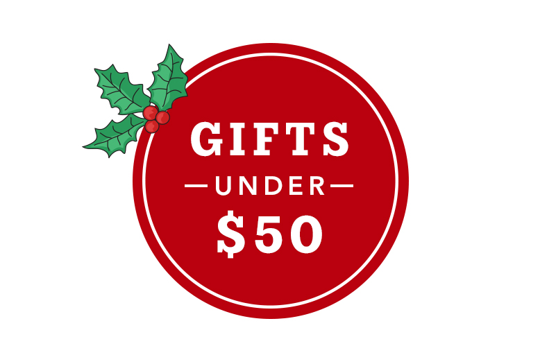 Gifts under $50. Shop now.