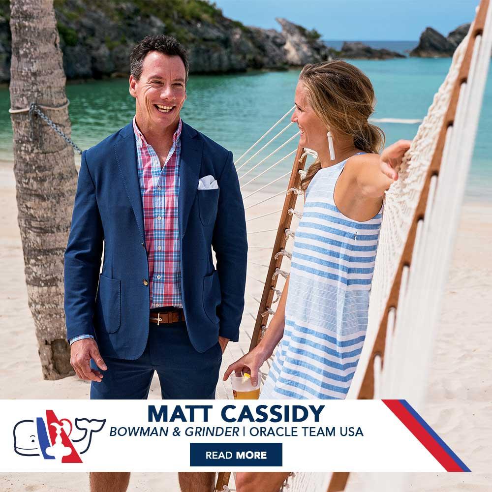 Matt Cassidy: Bowman & Grinder | Team Oracle USA. Read More!