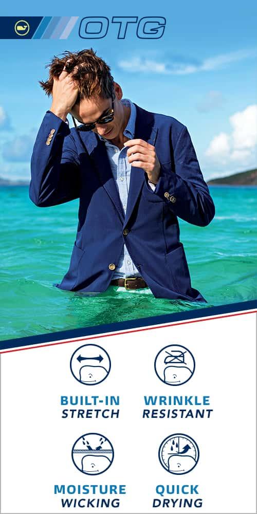 Performance Blazer. Product information about Men's performance Blazer.