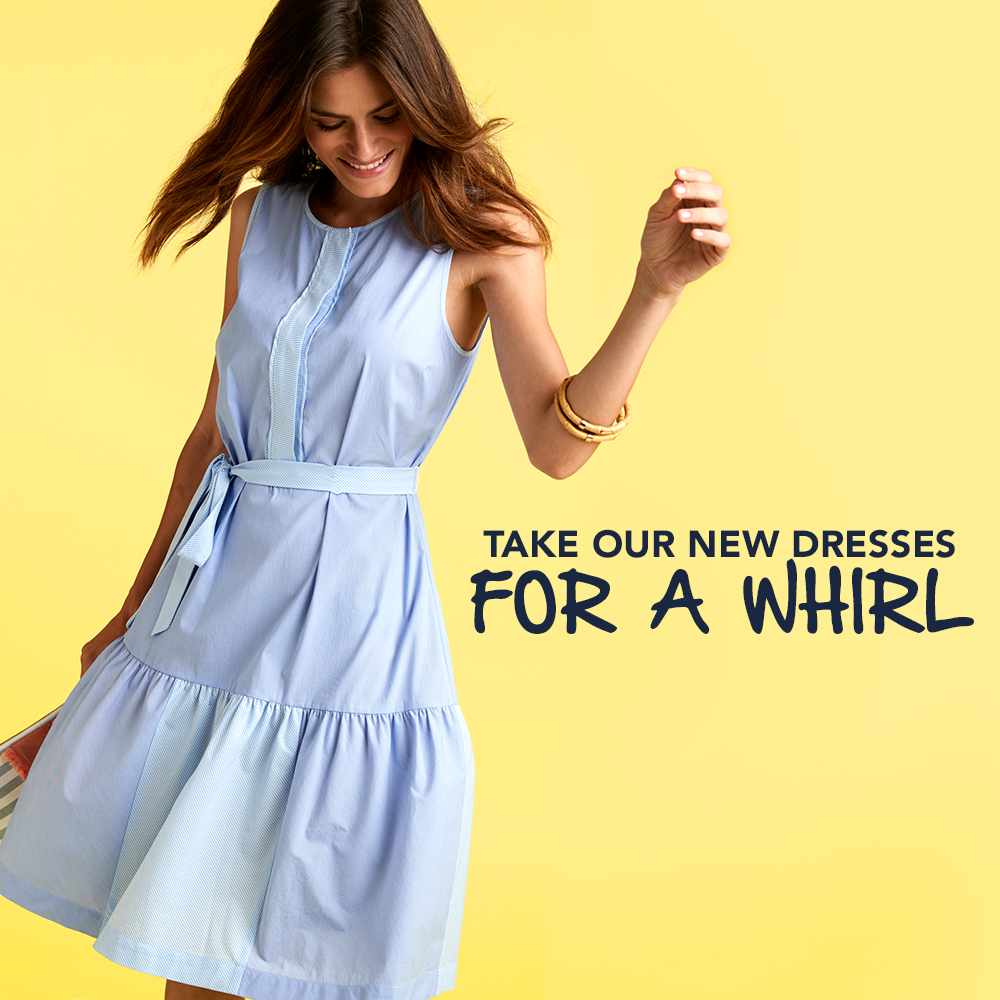 Take Our New Dresses for a Whirl. Womens Dresses Shop