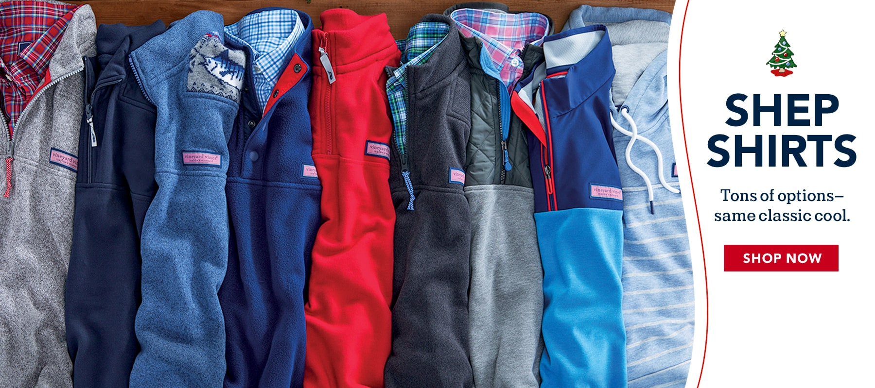 Shep shirts. Tons of options - same classic cool. Shop now.