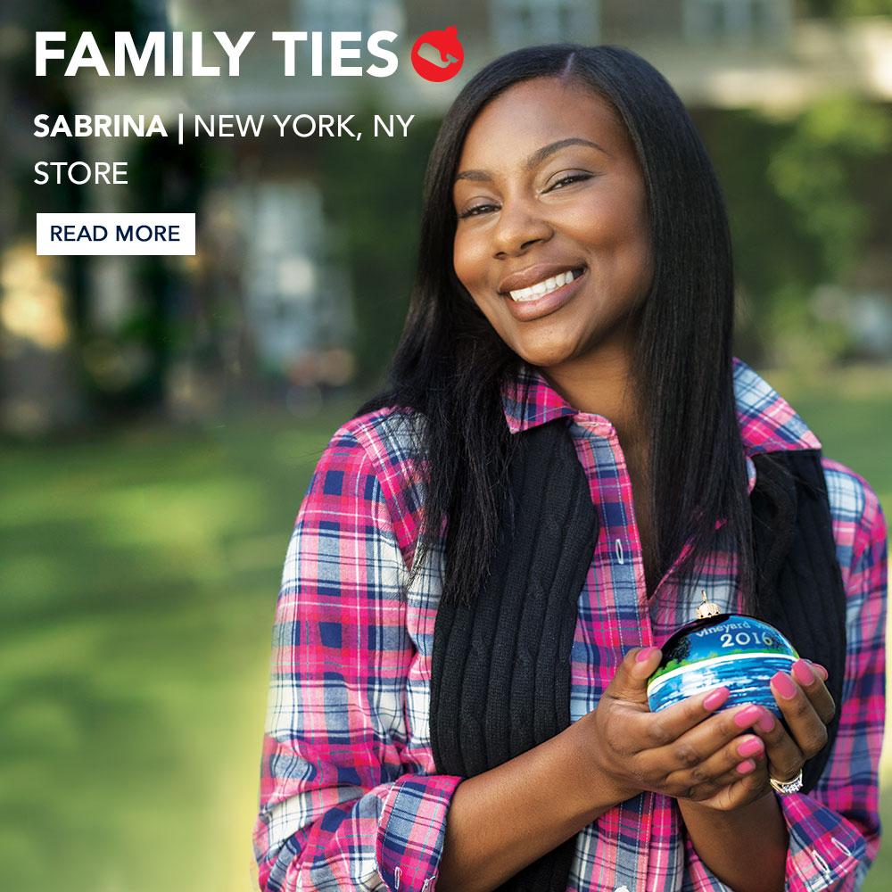 Family Ties. Sabrina | New York, NY Store. Read More.