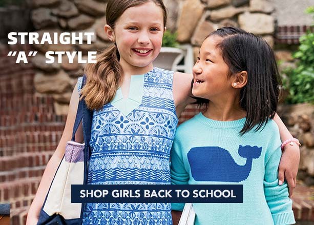 Straight 'A' Style. Shop Girls Back to School