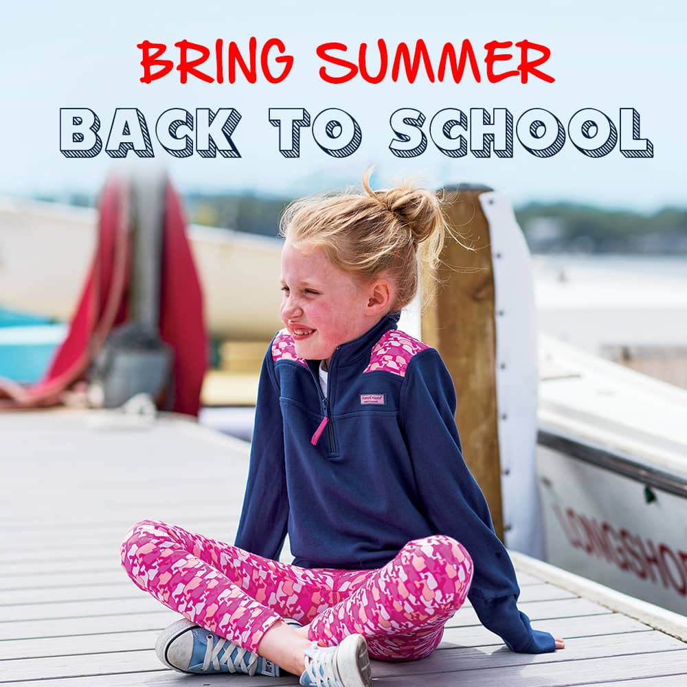 Bring summer back to school.