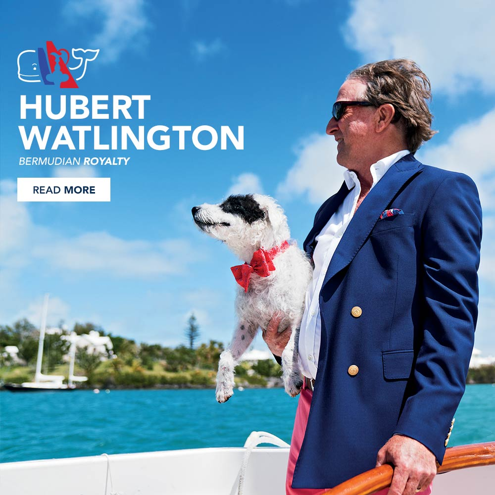 Hubert Watlington: Bermudian Royalty. Read More!