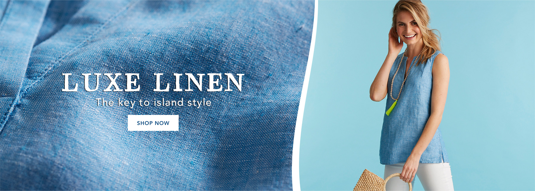 Shop womens linen collection.