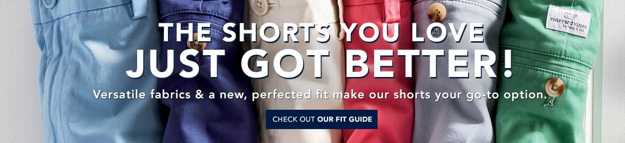 The shorts you love just got better! Check out our fit guide.