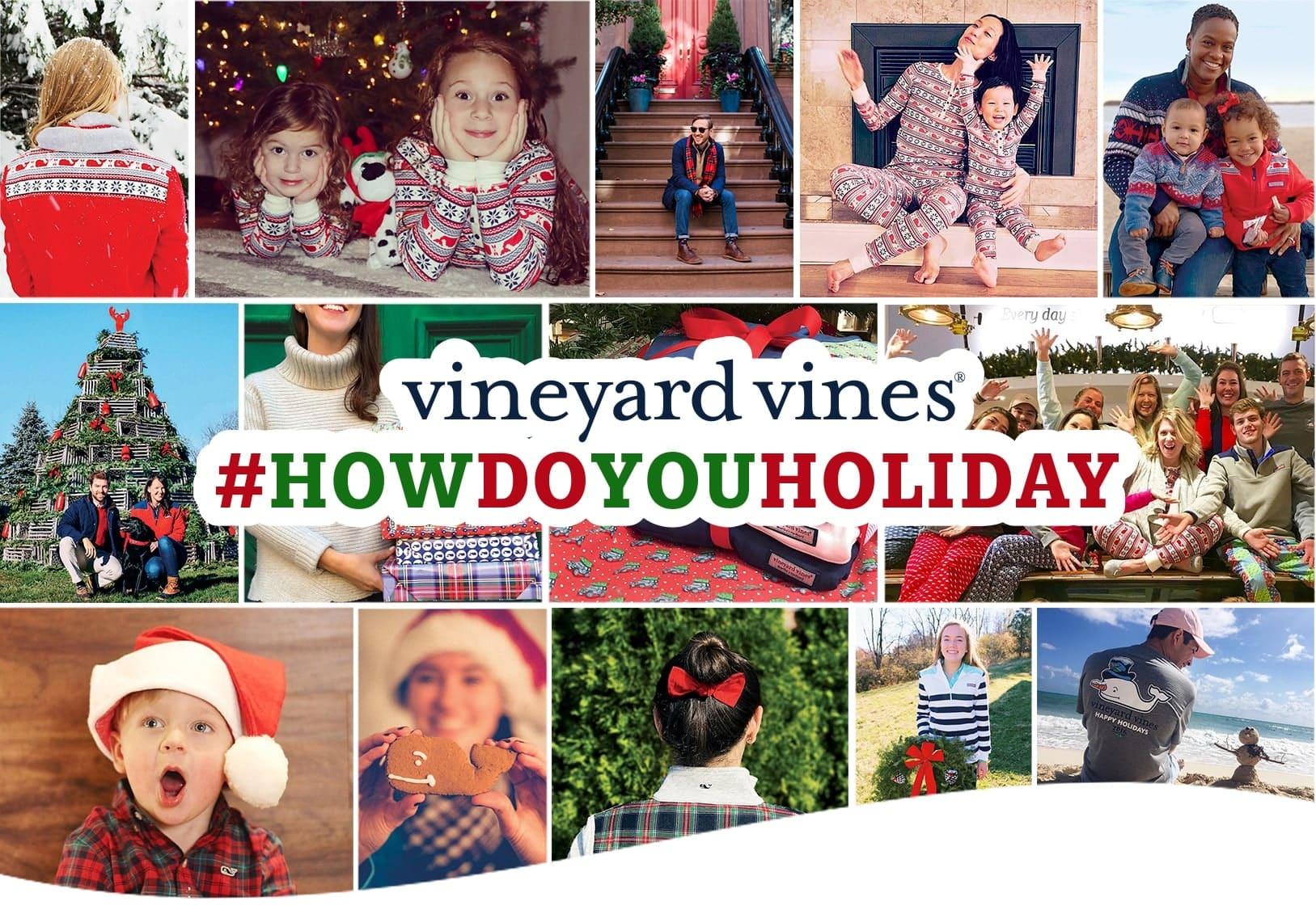 vineyard vines #howdoyouholiday