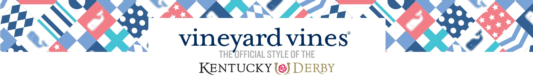 vineyard vines. The official style of the Kentucky Derby.
