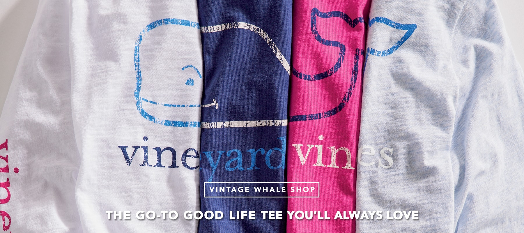 Vintage Whale Shop. The go-to good life tee you'll always love. Shop now.