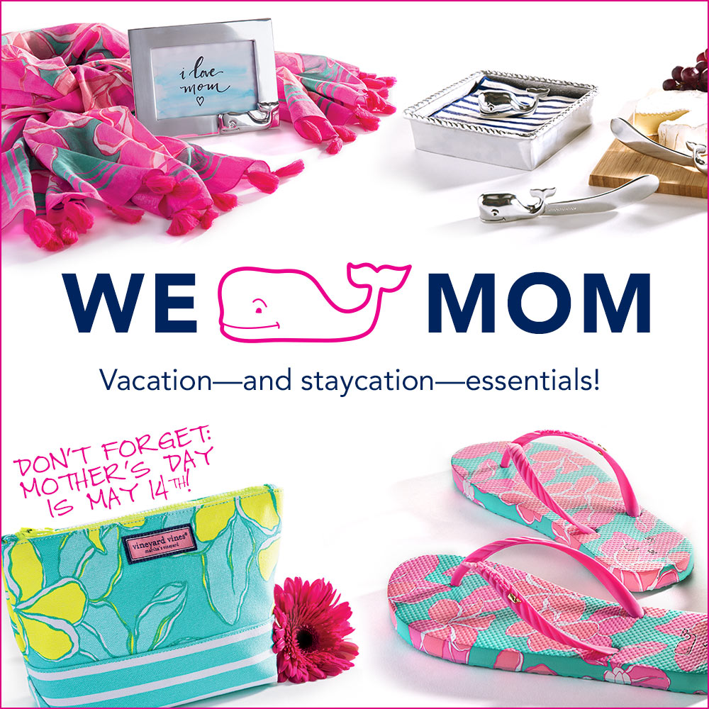 We Whale Mom! Vacation and staycation essentials! Shop for Mom!