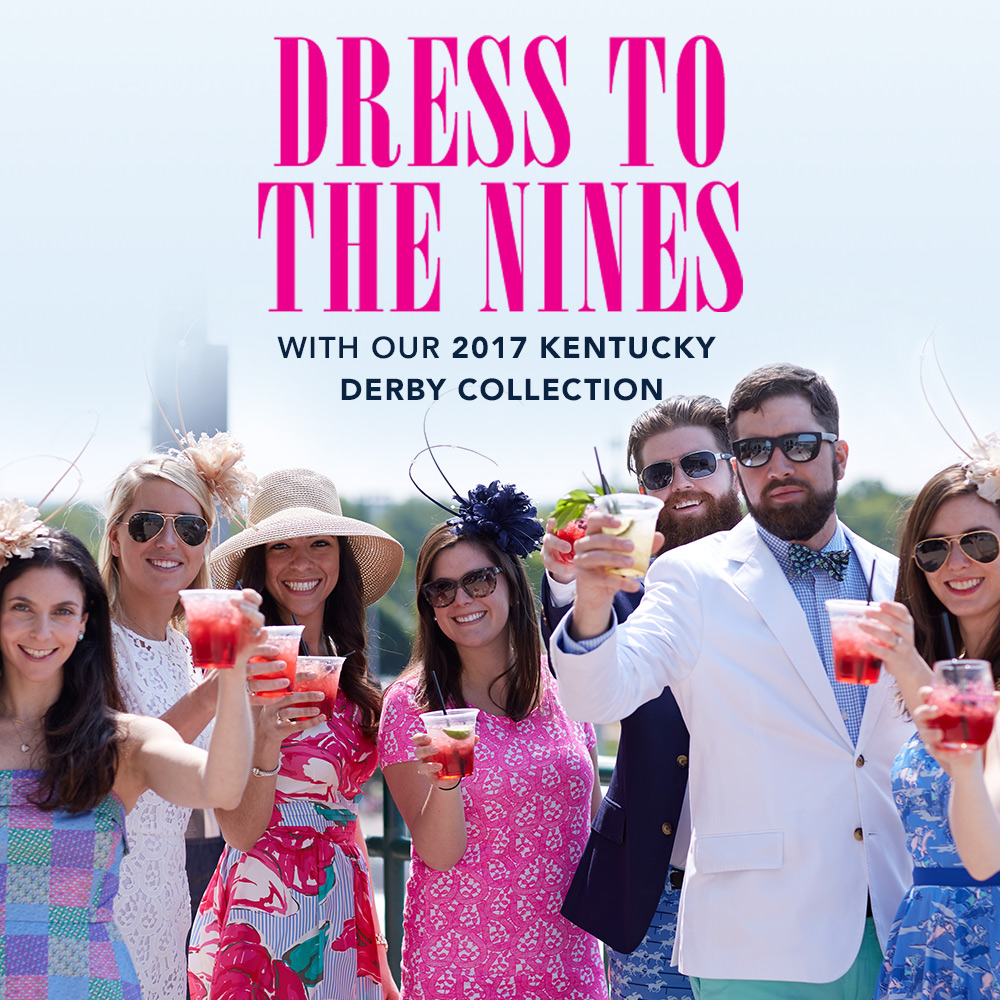 Dress to the Nines with our 2017 Kentucky Derby Collection