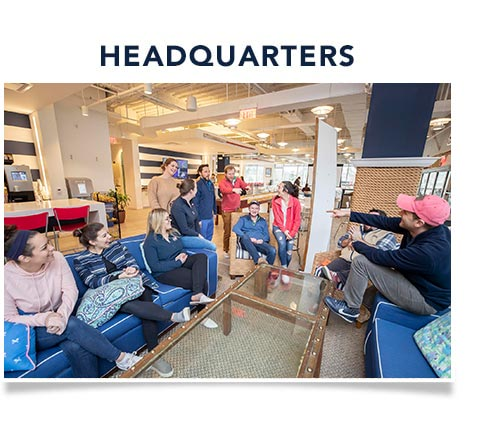Careers Headquarters: Explore the world of Vineyard Vines HQ