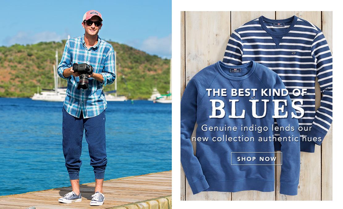 Shop our Indigo Collection.