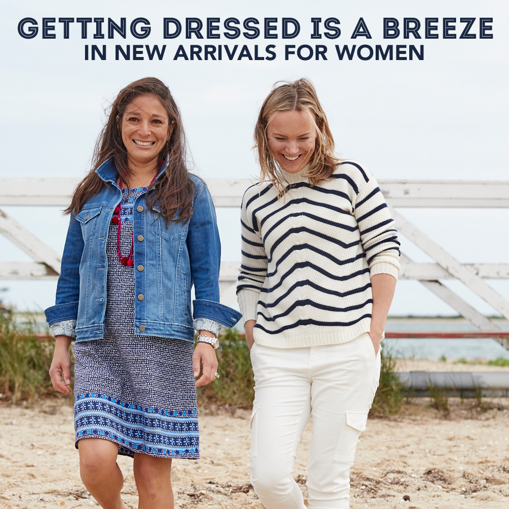 Getting Dressed is a Breeze in New Arrivals for Women. Womens New Arrivals.