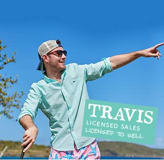 Travis, Licensed Sales: Licensed to Sell
