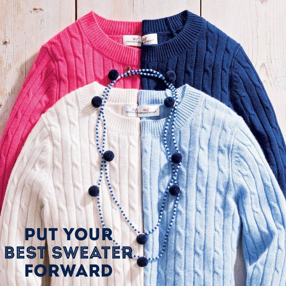 Put your best sweater forward. Shop Women's Sweaters