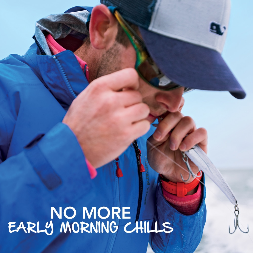No More Early Morning Chills. Mens Outerwear Shop.