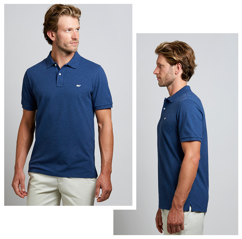 Men s shirt fit guide slim classic fits vineyard vines for Best untucked shirts for men