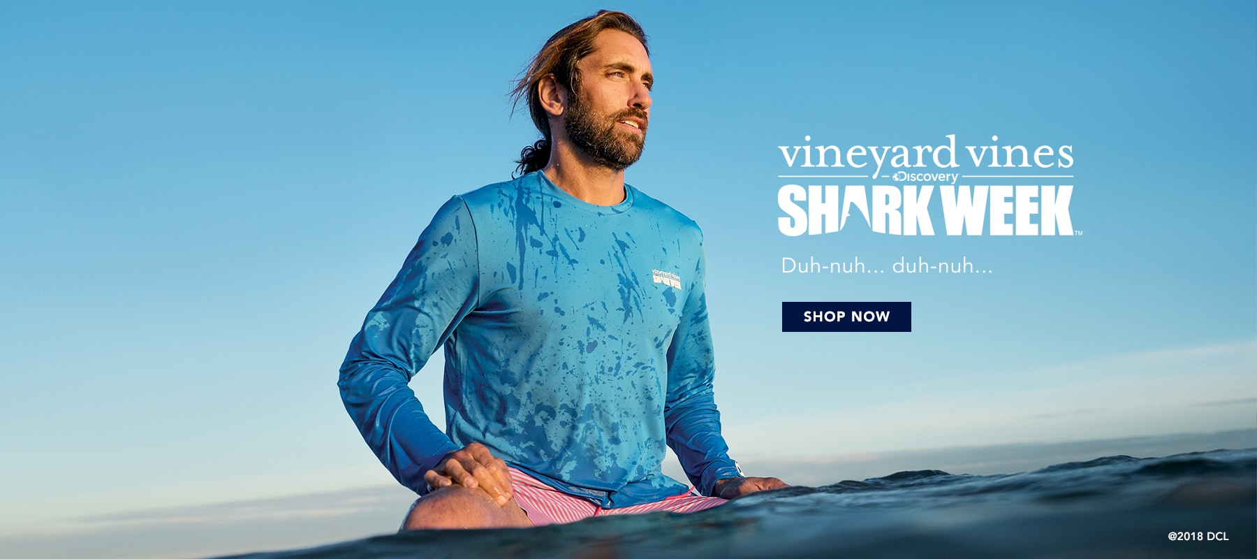 vineyard vines x Shark Week. Shop our limited edition collection. Shop Now.