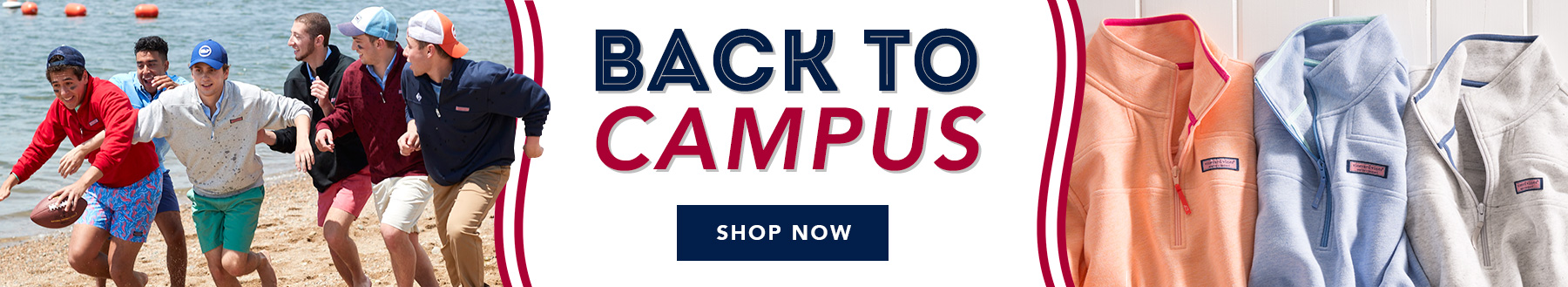 Back To Campus. Shop Now.