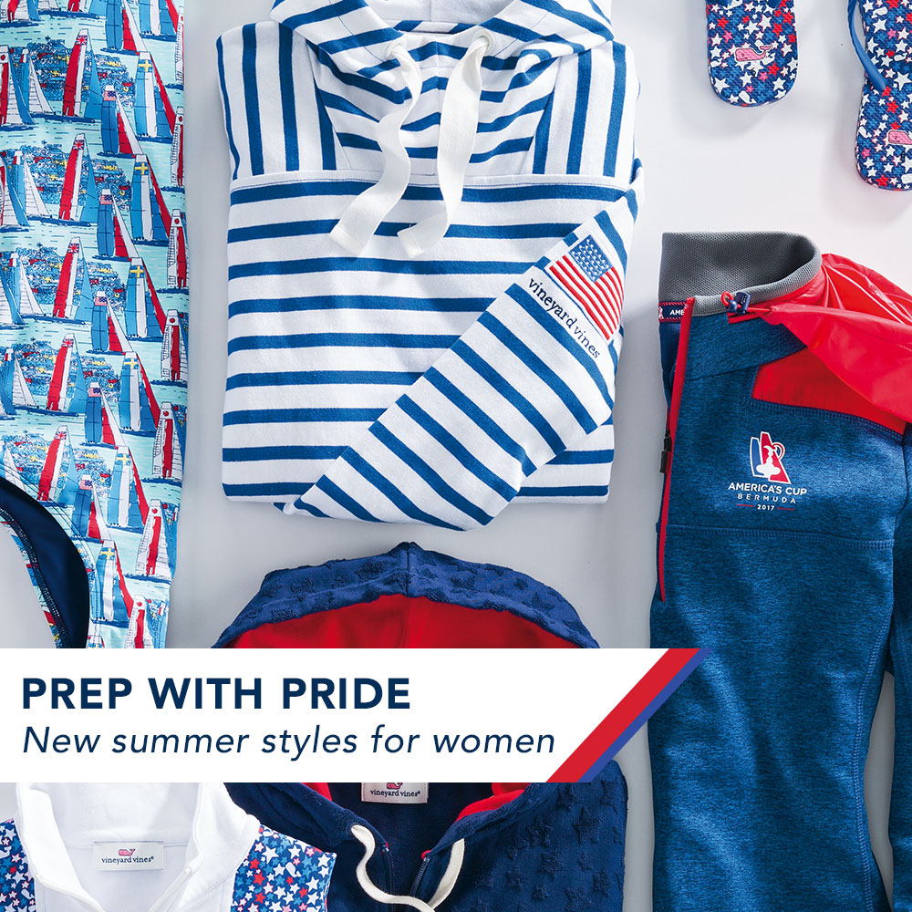 Prep with Pride. New Summer Styles for Women