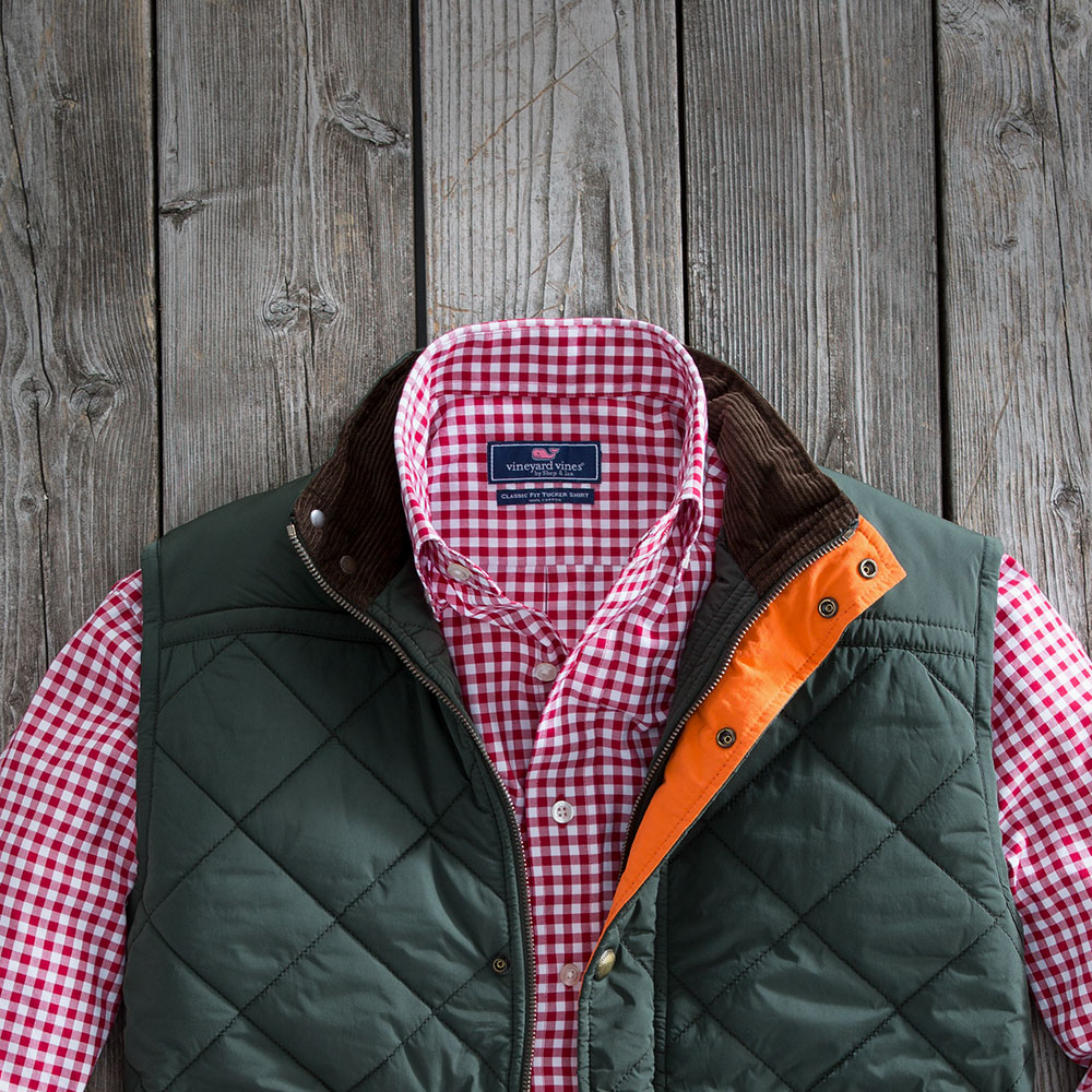 The Mens Quilted Vest
