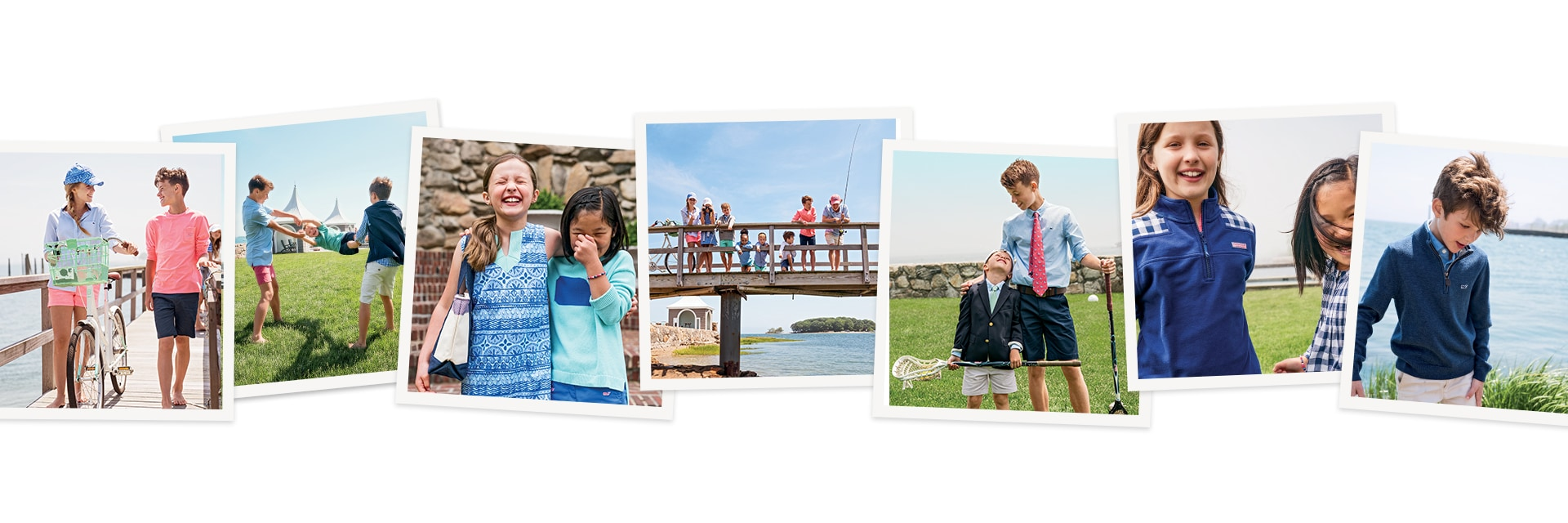 photos of kids going back to school in vineyard vines clothing