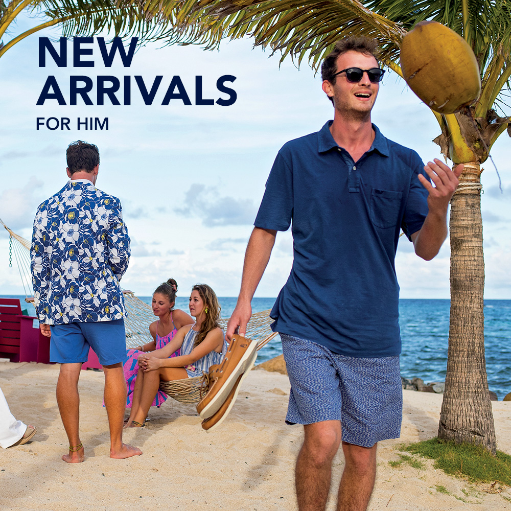 New Arrivals. Tailored for the Beach. Shop New Mens.