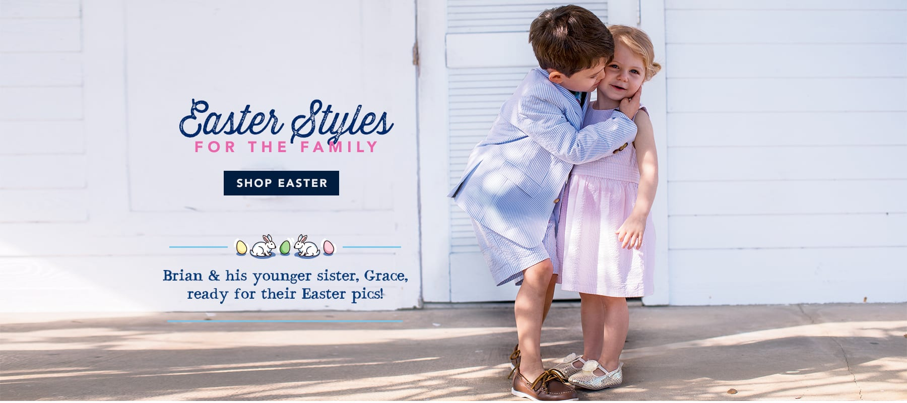 Easter styles for the family. Shop Easter.