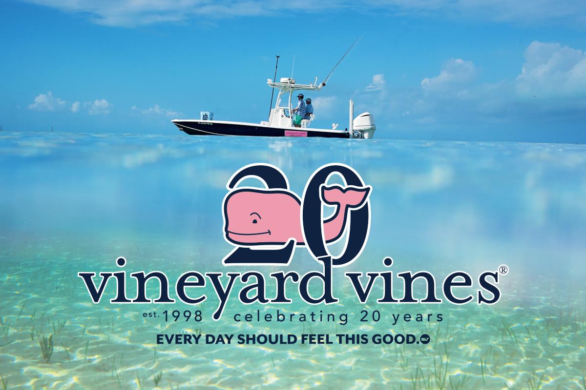 vineyard vines. Celebrating 20 years.
