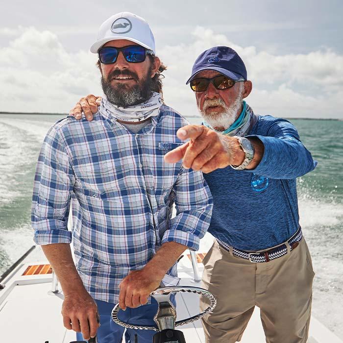 Gary Skrobeck Jr. & Skip Paxton
