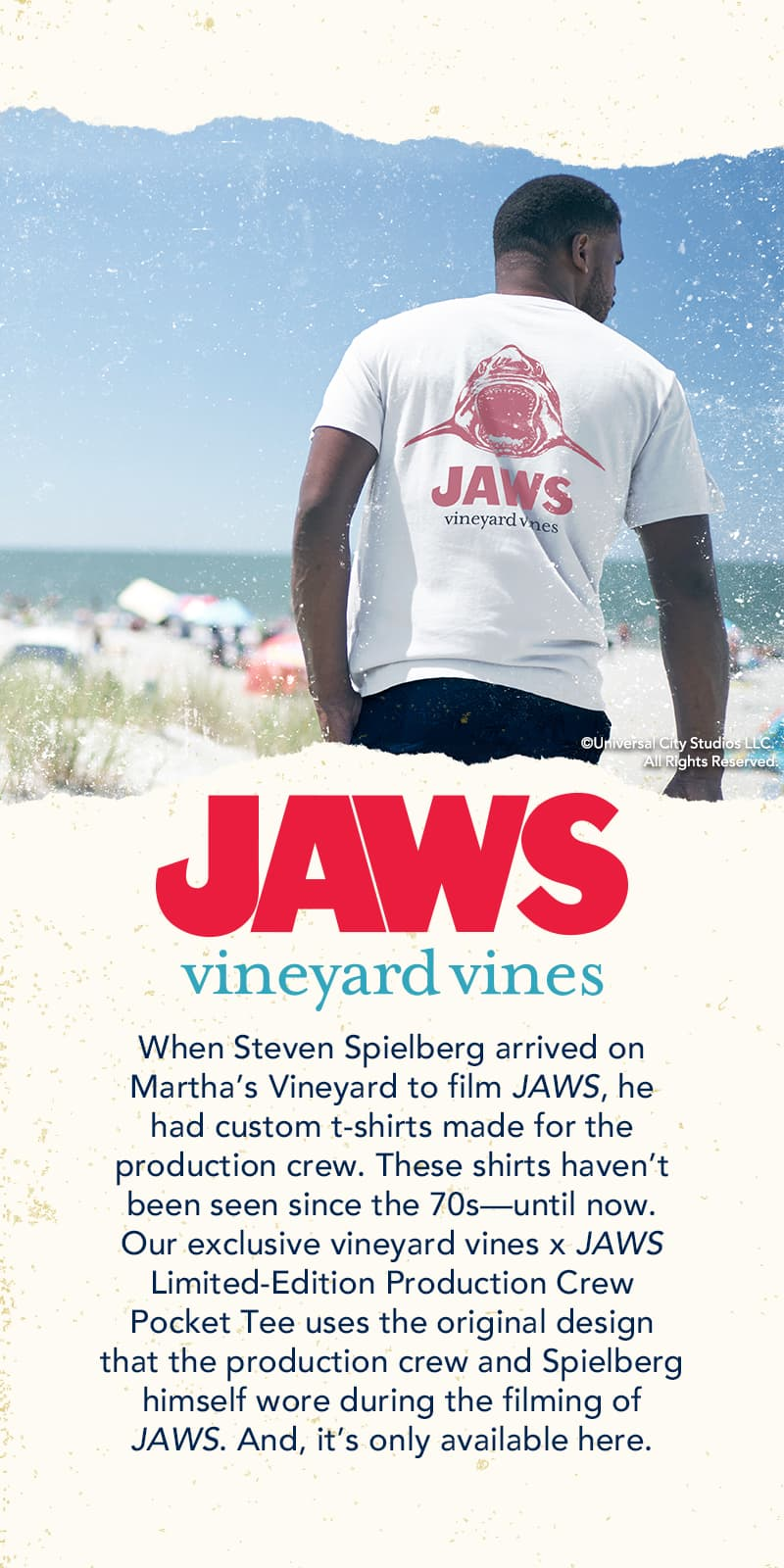 JAWS might be set on the fictional Amity Island, but it was filed throughout Martha's Vineyard during the summer of 1974.