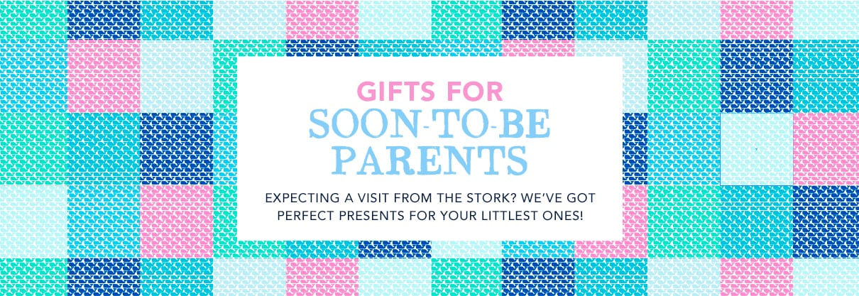 Gifts for soon-to-be parents. Expecting a visit from the stork? We've got perfect presents for your littlest ones.
