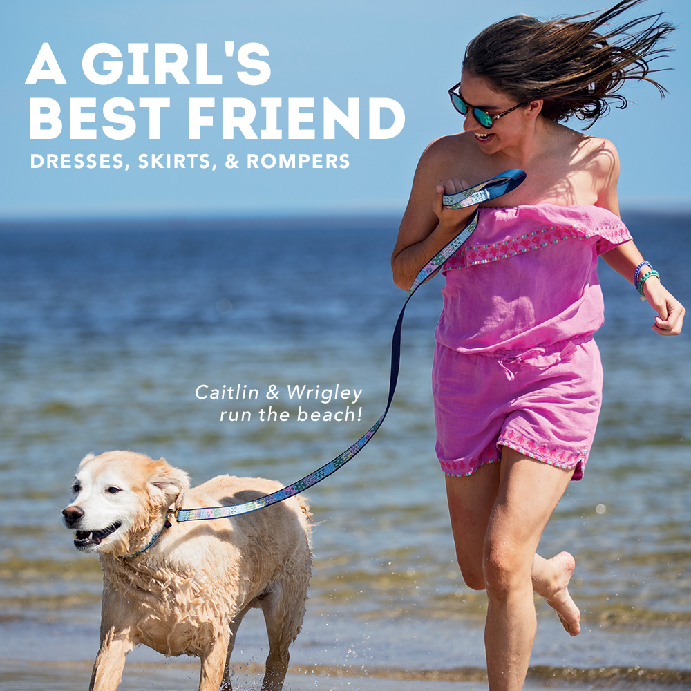 A Girl's Best Friend: Dresses, Skirts, & Rompers.