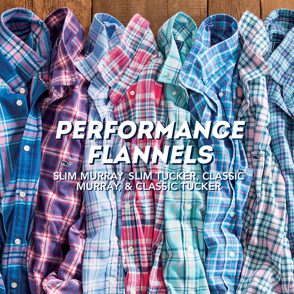 Performance Flannels. Shop Here