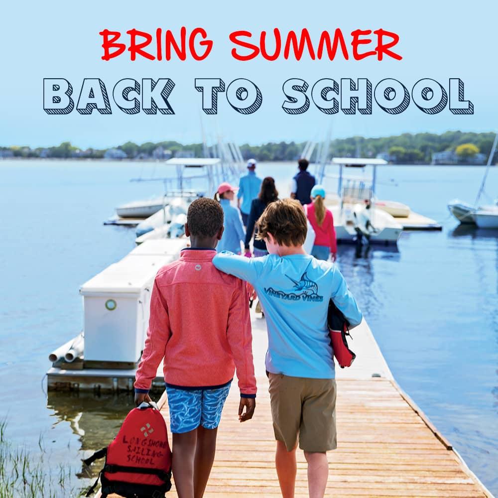 Bring summer back to school.