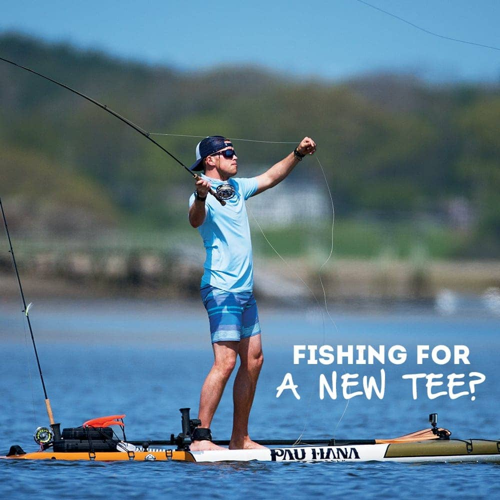 Fishing for a new tee? Shop Men's T-Shirts